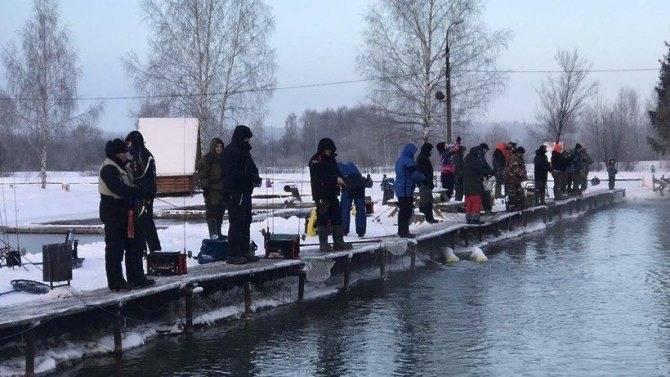 Рыбалка в красногорске. особенности и места активного клева