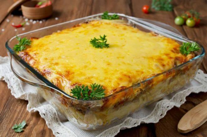 Картофельная запеканка с рыбой – кулинарный рецепт