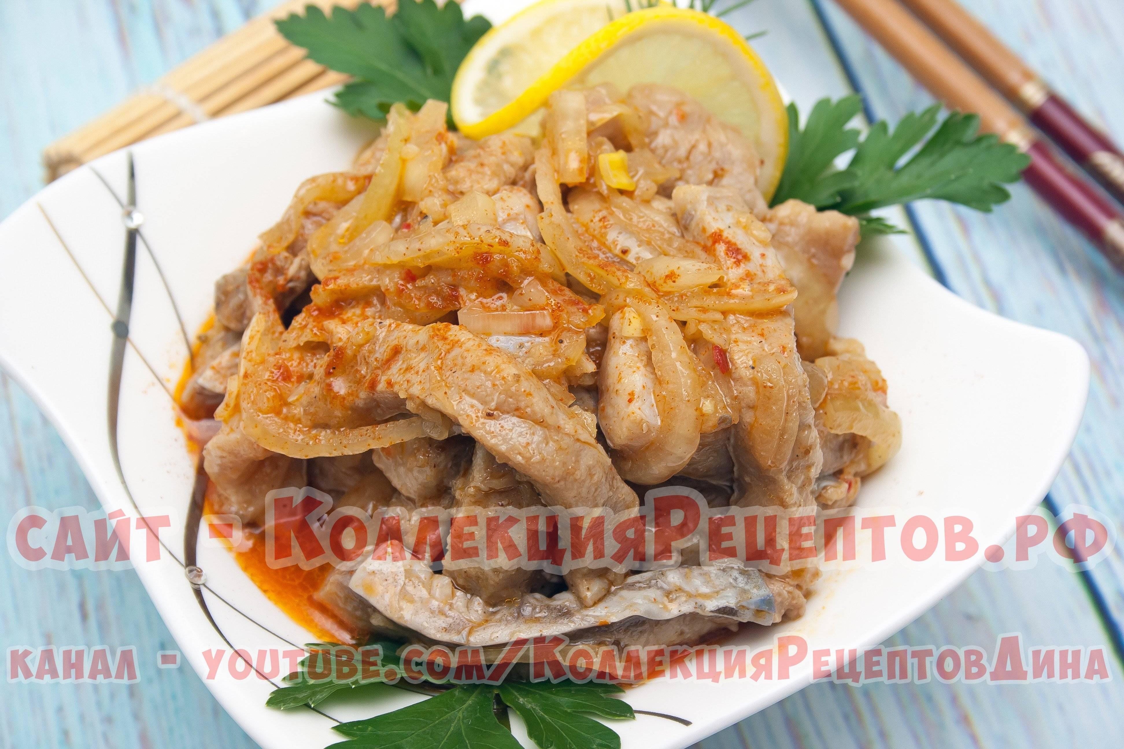 Рецепт приготовления хе из рыбы по-корейски