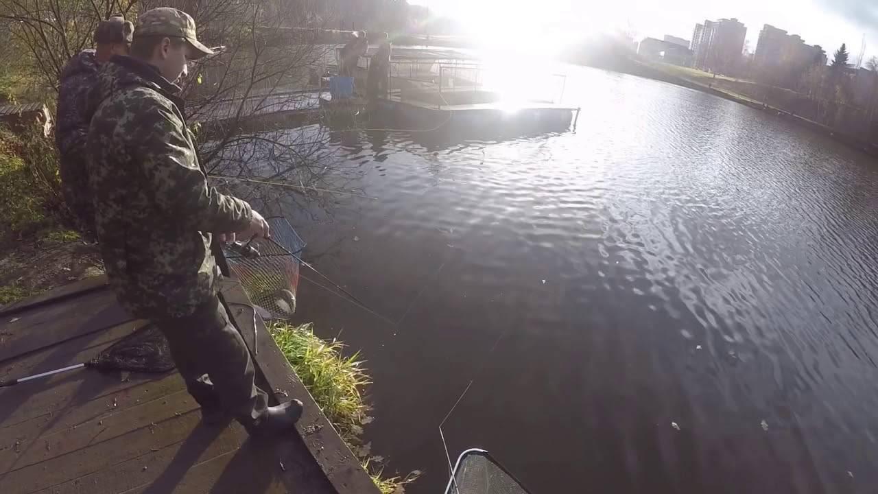 Платная рыбалка красногорская плотина
