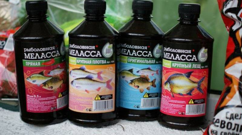 Меласса для рыбалки: свойства черной патоки