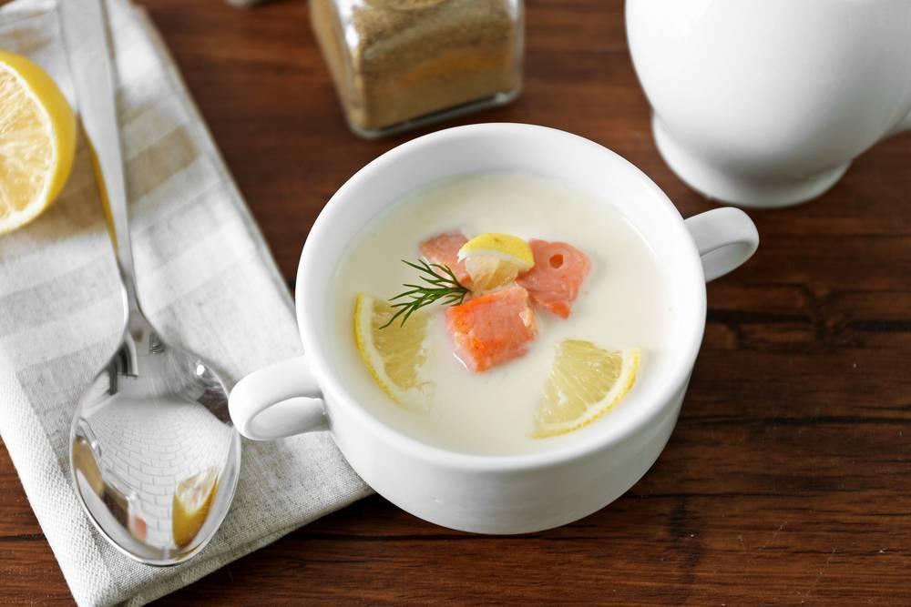 Суп из семги со сливками – сливочное удовольствие: рецепт с фото и видео