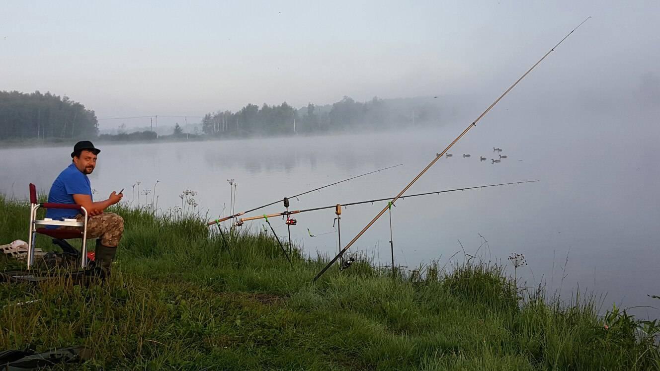 Рыбалка и отдых на озерах тверской области