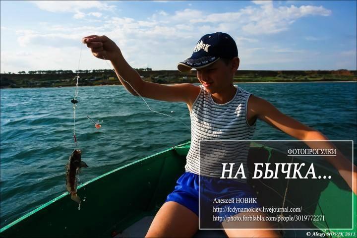 Снасть и наживка для ловли бычка на азовском море