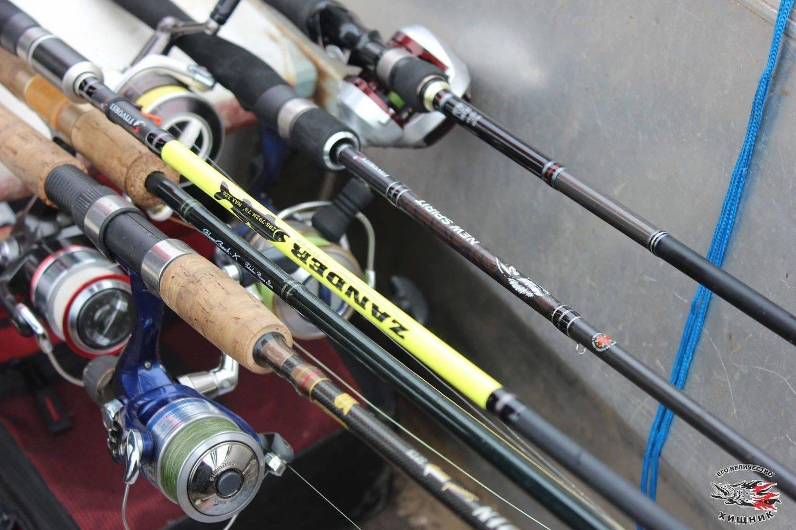Оптимальная длина спиннинга для ловли с лодки