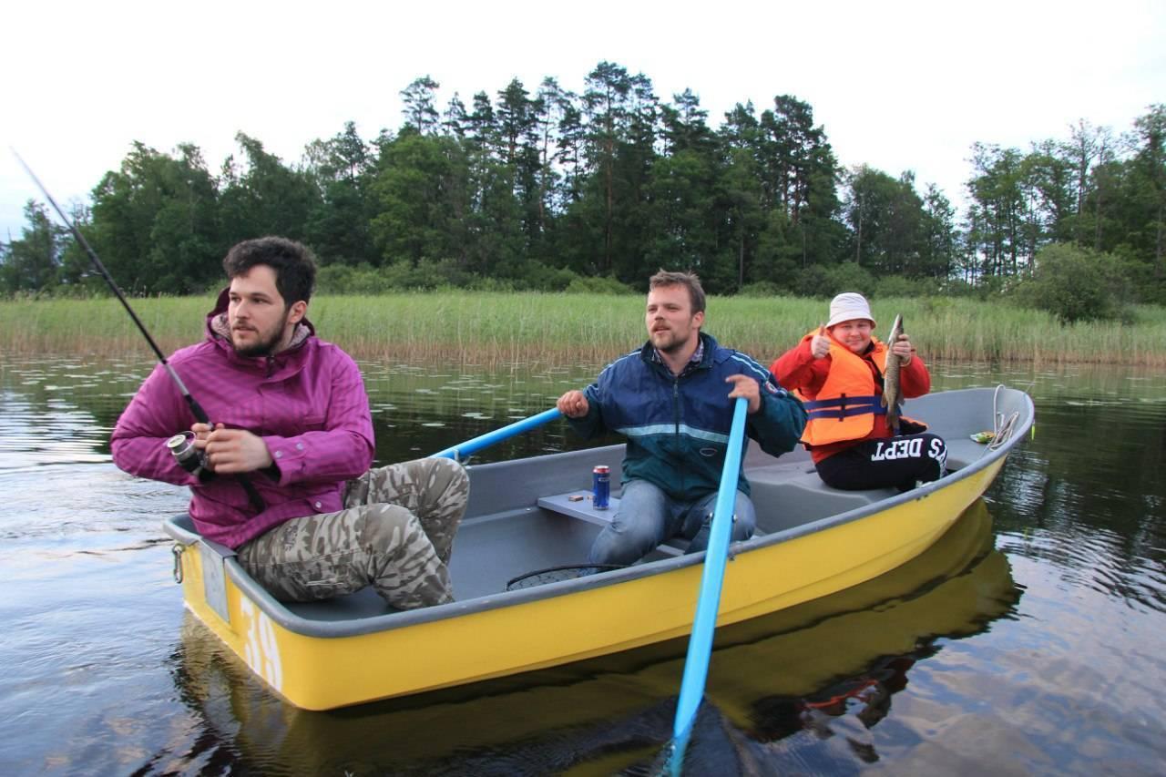 Рыбалка на вуоксе - базы на русском озере, отзывы