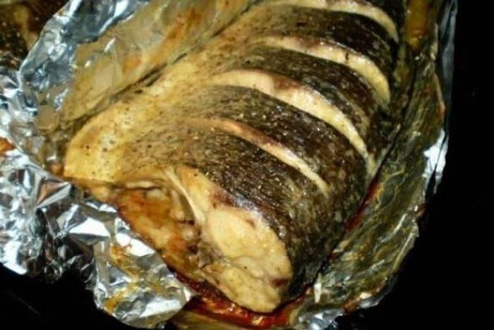 Щука с картошкой, запеченные в духовке