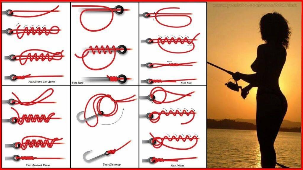Самые надёжные рыболовные узлы - подробное описание и схема выполнения! | все о рыбалке в израиле