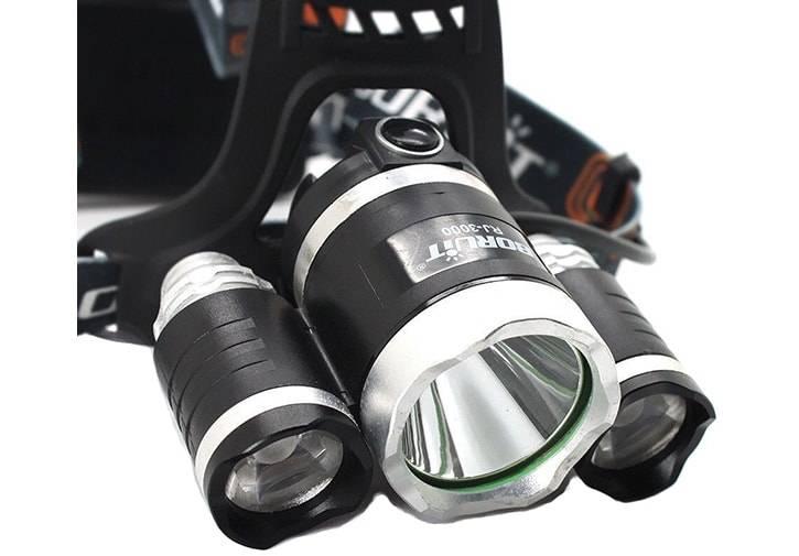 Налобные фонари. купить мощный фонарь boruit hl 720 для рыбалки, охоты и туризма