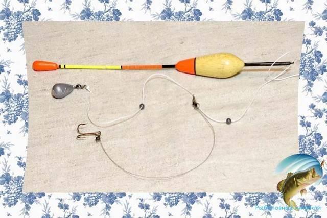 Оснастка поплавочной удочки для ловли на течении, как ловить на реке