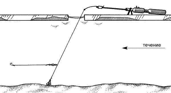 Оснастка болонской удочки для ловли на течении + техника ловли