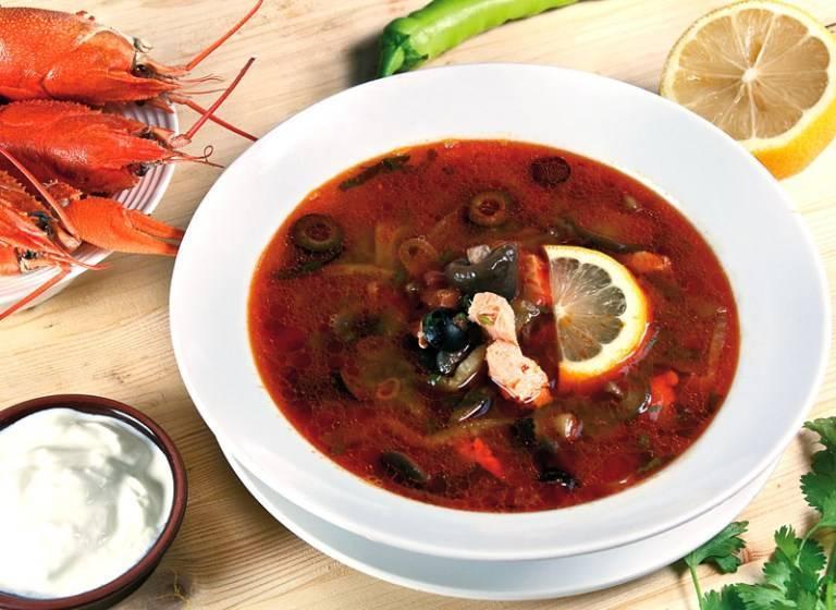 Пошаговый рецепт приготовления классической рыбной солянки