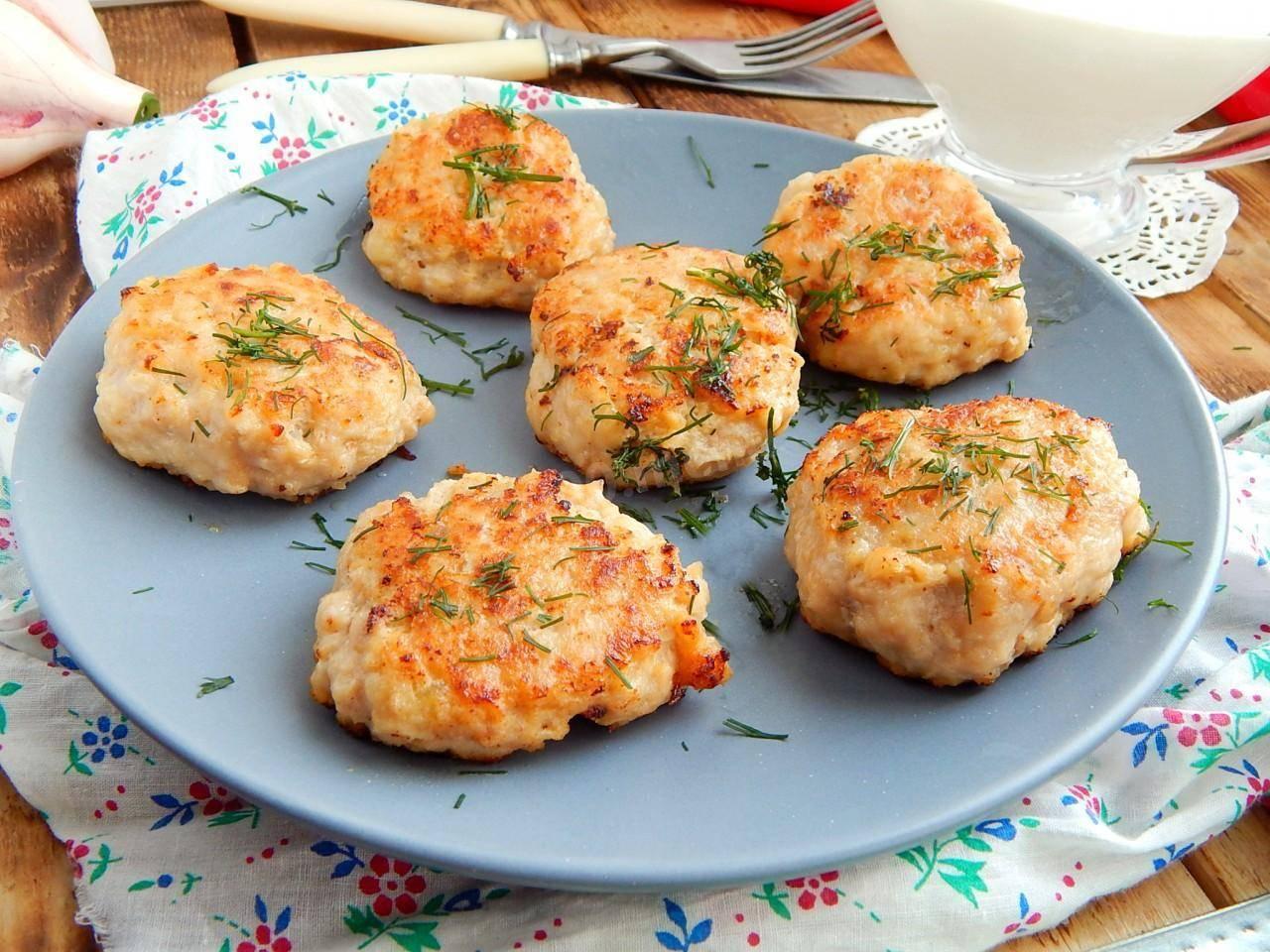 Картофельно-рыбные котлеты – кулинарный рецепт