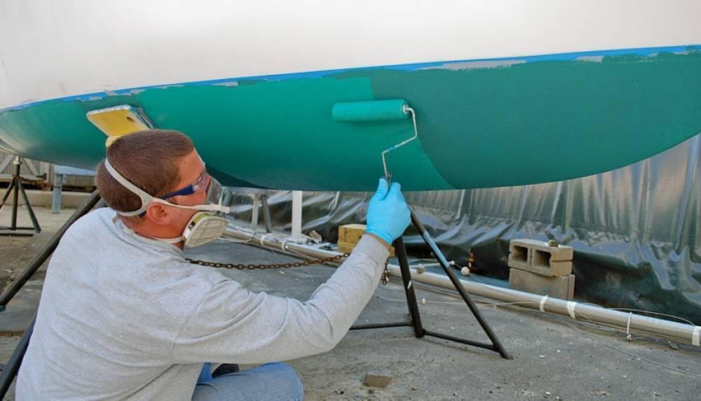 Краска для лодок: разновидности, подготовка и технология работы с материалом