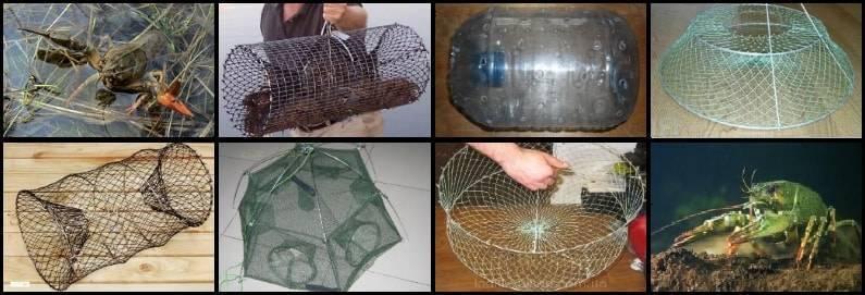 Изготовление раколовок из подручных средств своими руками