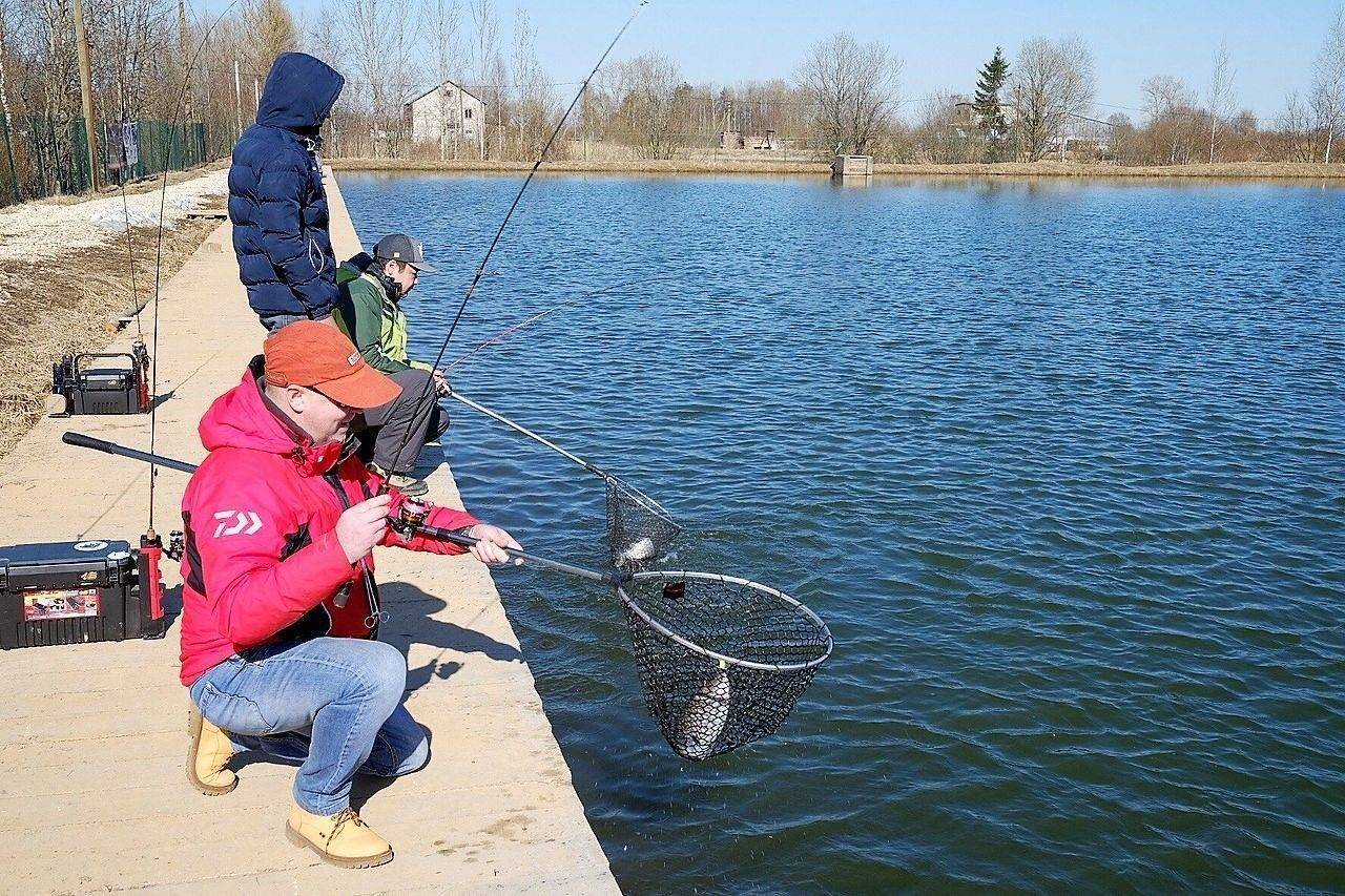 Водоем для спортивной рыбалки