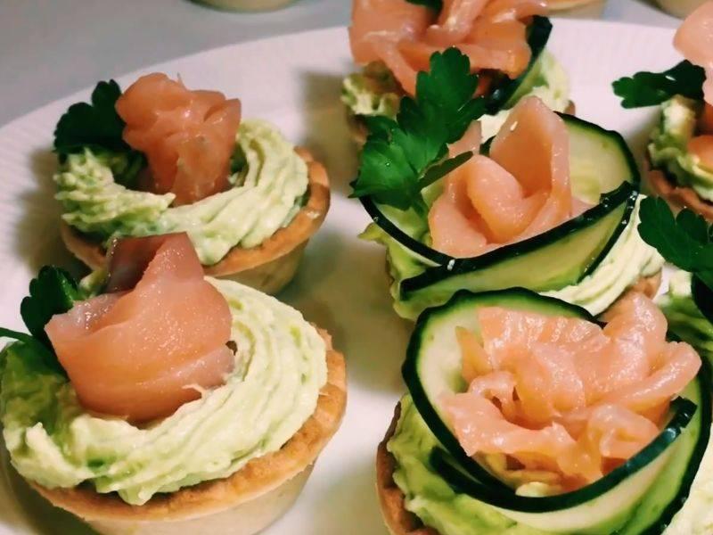 Тарталетки с красной рыбой — 7 вкусных рецептов приготовления - rus-womens