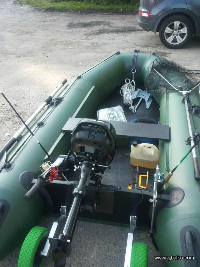 Как сделать тюнинг лодки пвх своими руками