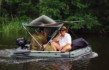 Лодка барк 260