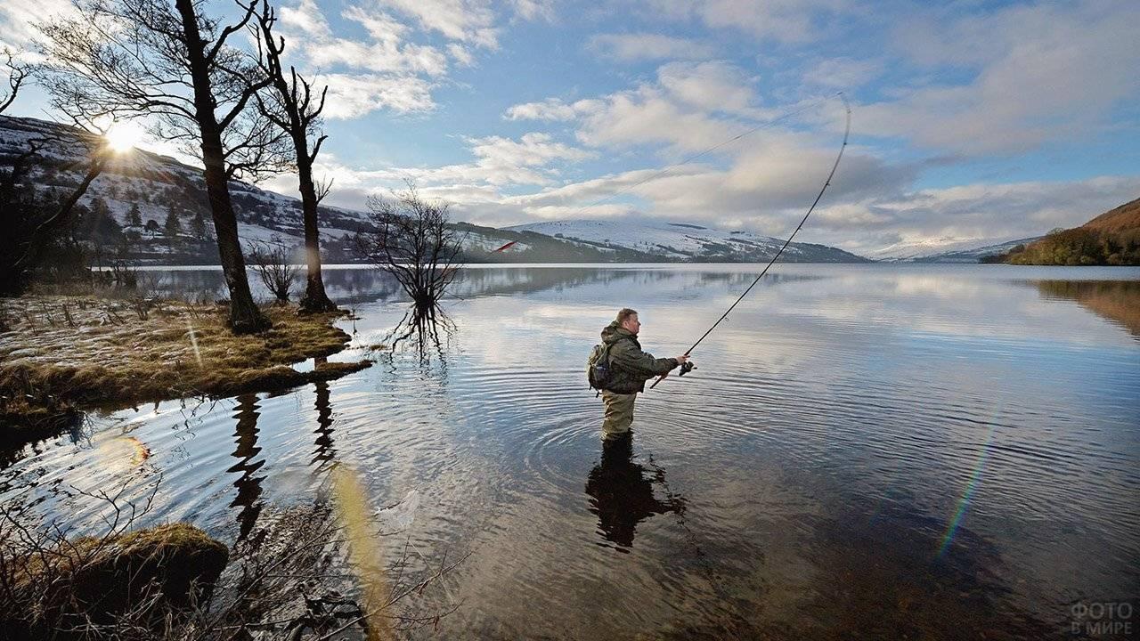 Рыбалка на лесных озерах тайги: видео, лучшие места для ловли