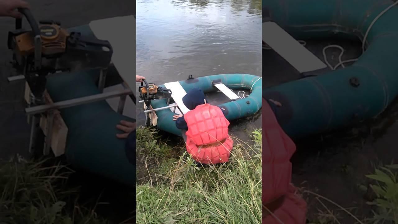Изготовление самодельных лодочных моторов