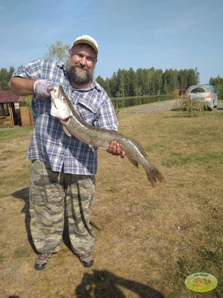 Платная рыбалка на базе ихтиолог