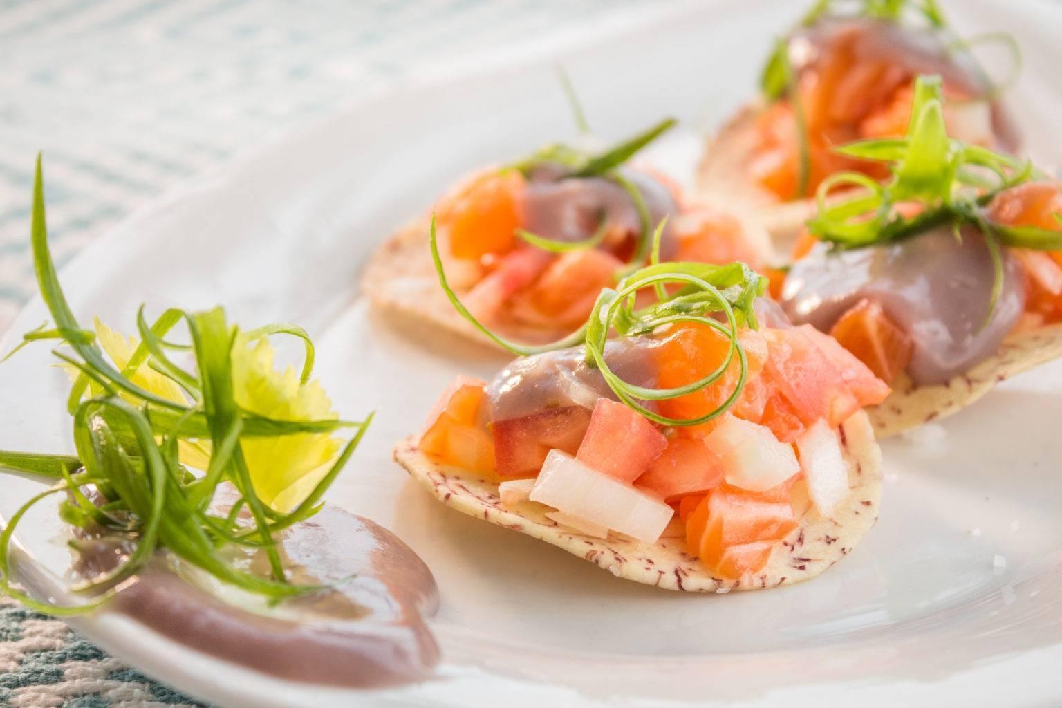 Рыбное севиче из лосося