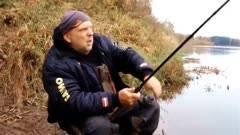 Особенность рыбалки на фидер осенью