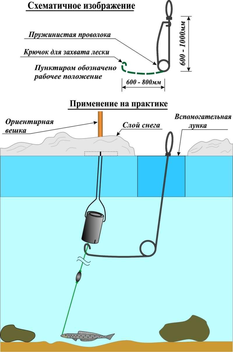 Ловля судака зимой на тюльку: техника и способы