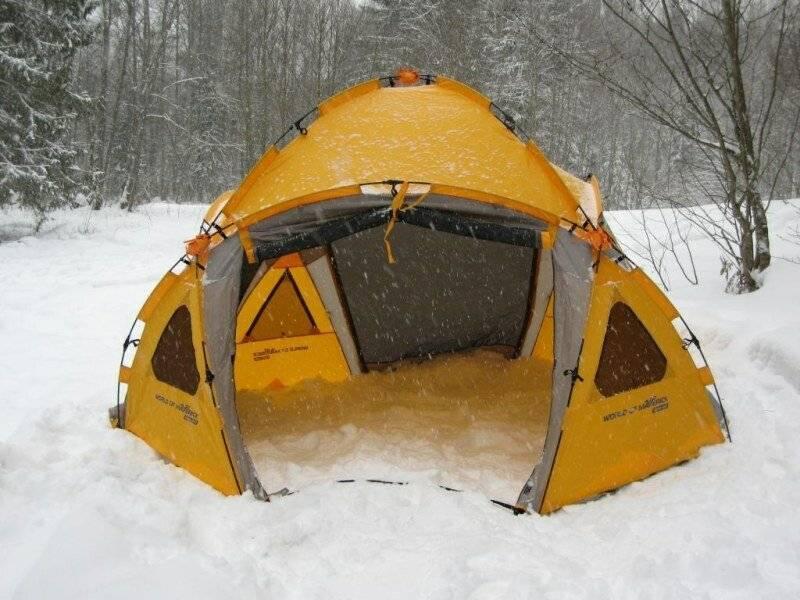 11 лучших палаток для зимней рыбалки