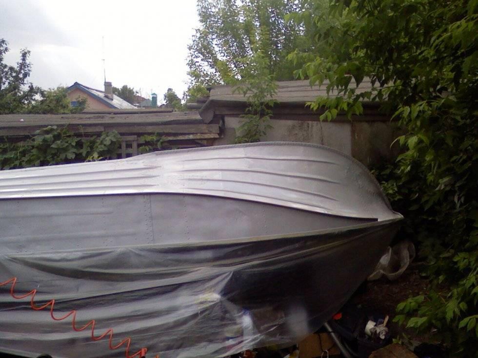Покраска алюминиевой лодки качественно и на долго