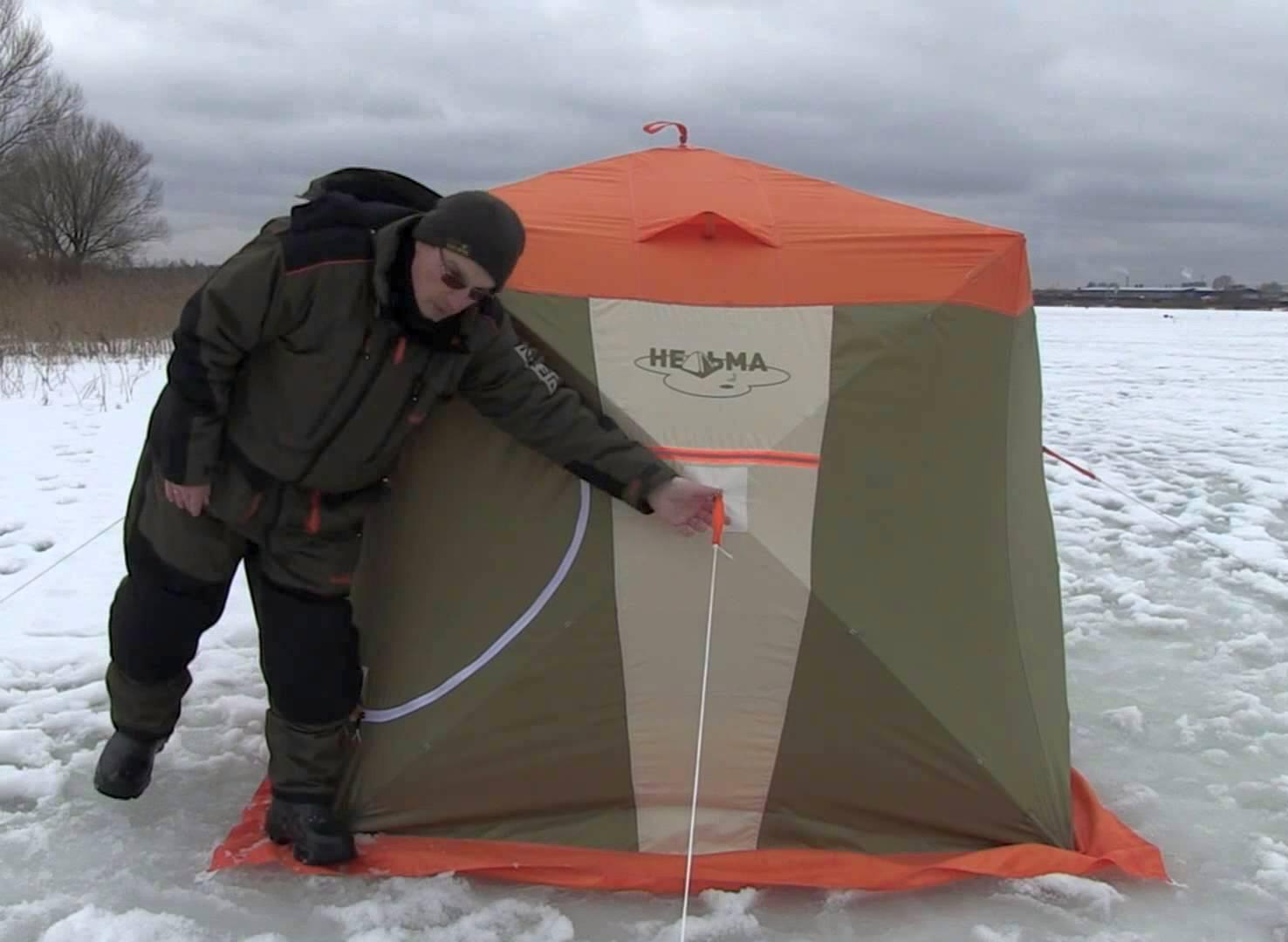 Зимняя палатка своими руками: постройка, обустройство, утепление и правила размещения. 120 фото лучших моделей для изготовления своими руками