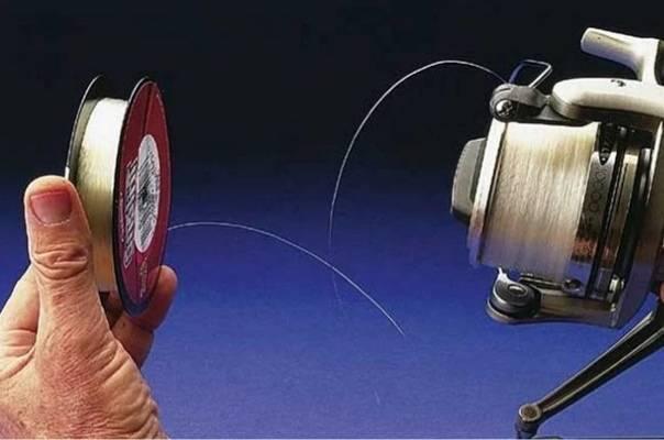 Как правильно наматывать леску на катушку спиннинга?