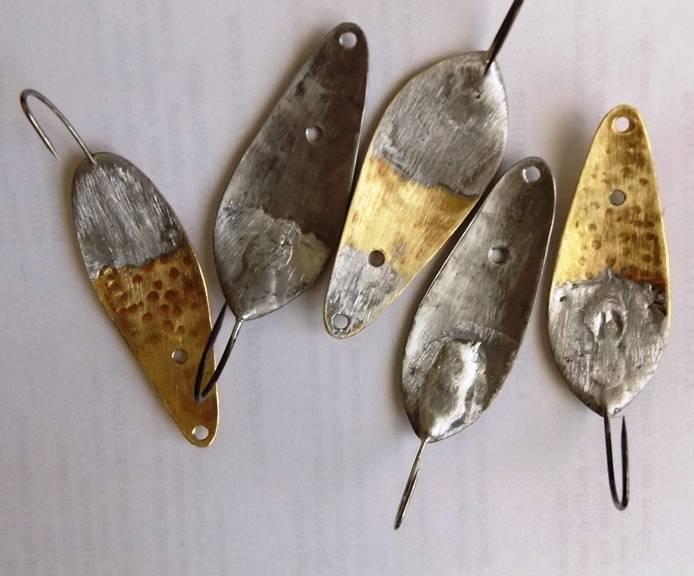 Блесна на щуку своими руками (31 фото): из ложки и монет. как сделать незацепляйки в домашних условиях и уловистые самодельные блесны?