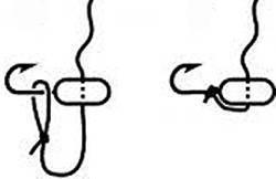 Как привязать мормышку к леске