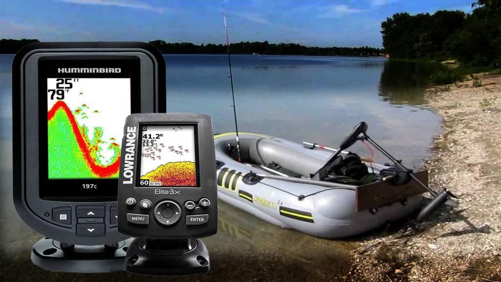 Эхолот для рыбалки с лодки: как пользоваться, какой лучше выбрать