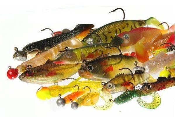 Силиконовая приманка для рыбалки и её разновидности