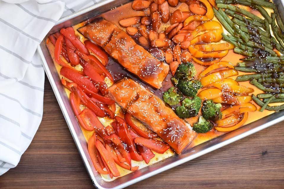 Лосось терияки: блюдо за 10 минут!