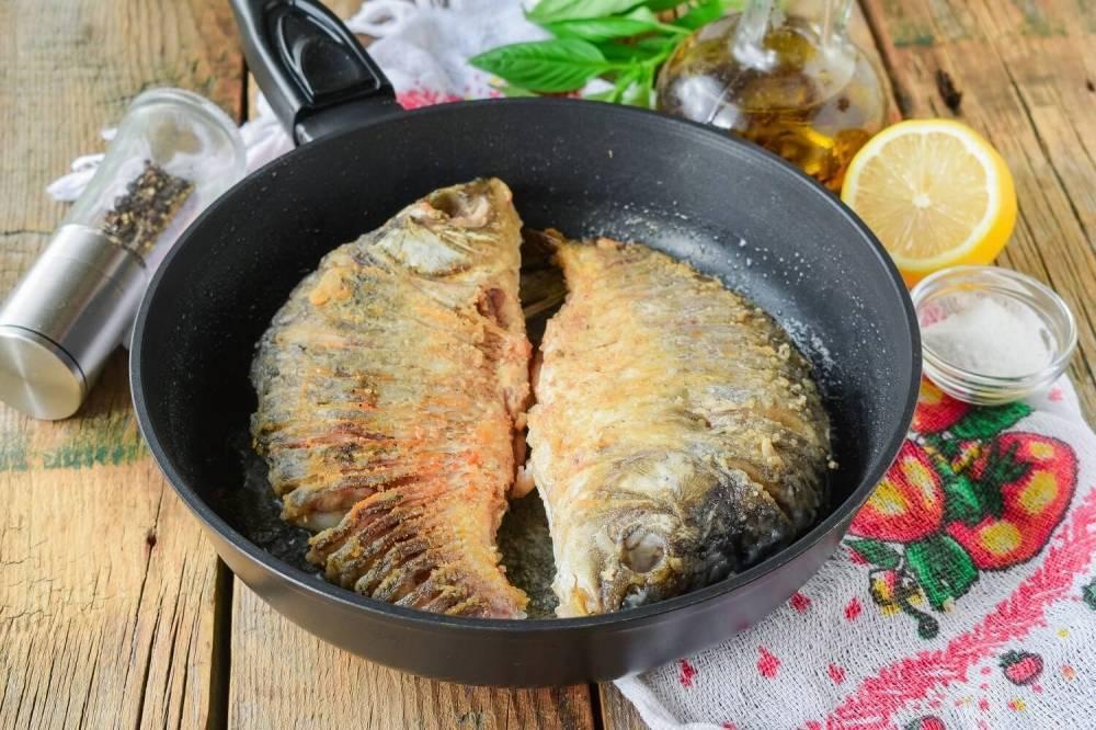 Сколько жарить рыбу на сковороде (разных видов)?
