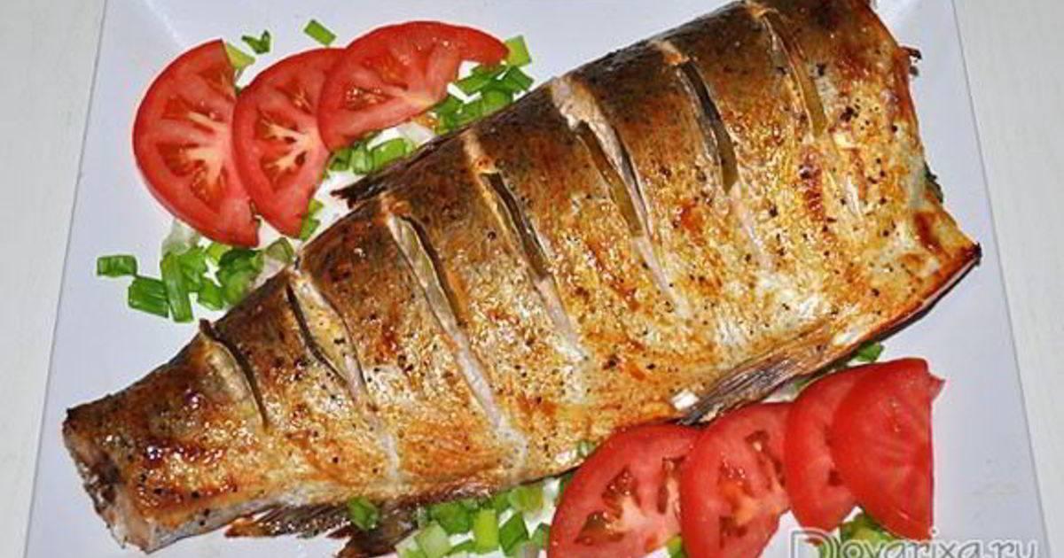 Как запечь толстолобика в духовке кусочками- рецепт пошаговый с фото