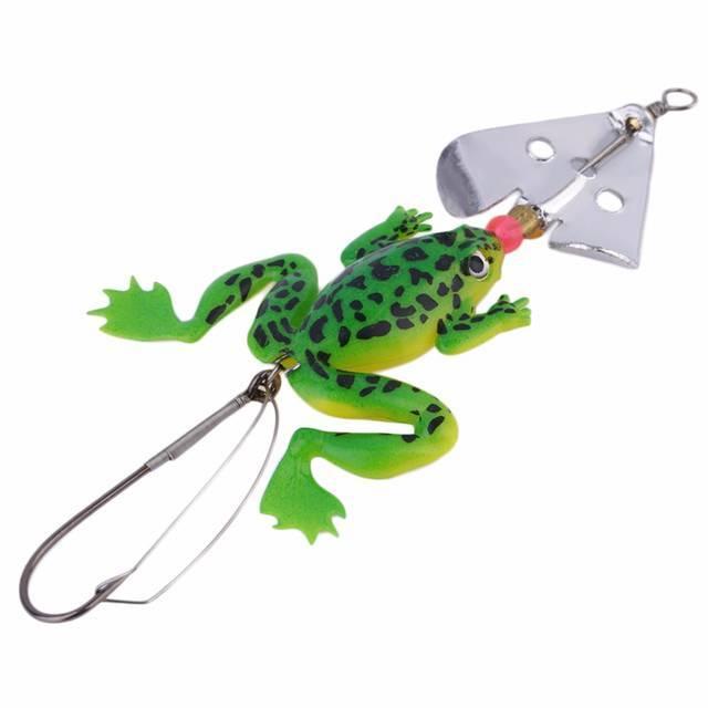Ловля наискусственную иживую лягушку