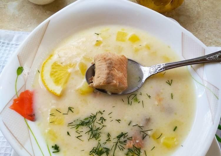 Суп рыбный из консервов с горбушей рецепт с фото пошагово - 1000.menu