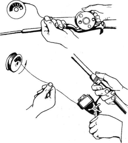 Как намотать леску на безынерционную катушку? как правильно закрепить шнур на катушке спиннинга? правила намотки плетенки на шпулю