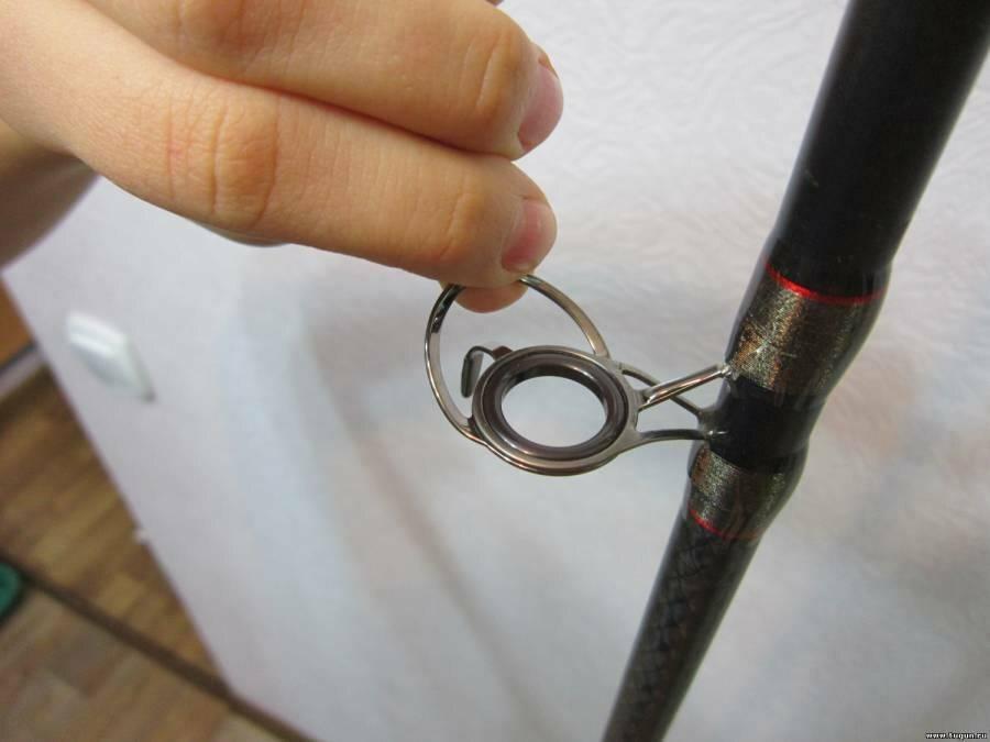 Ремонт спиннинга: замена колец своими руками. как поменять другие запчасти в домашних условиях? как отремонтировать кончик, если он сломался?