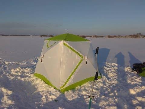 Лучшие зимние палатки для рыбалки и туризма по моделям