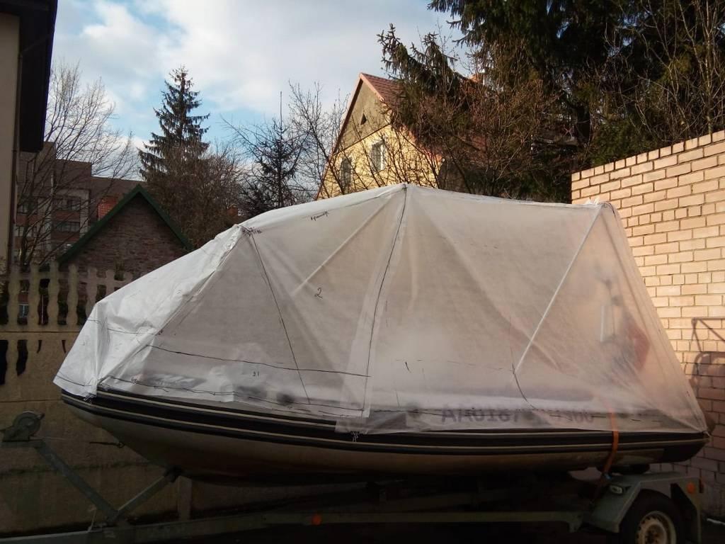 Тент на лодку пвх своими руками: особенности, как сделать