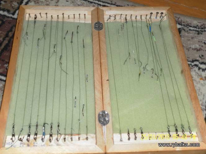 Поводочница в футляре - самоделки для рыбалки своими руками