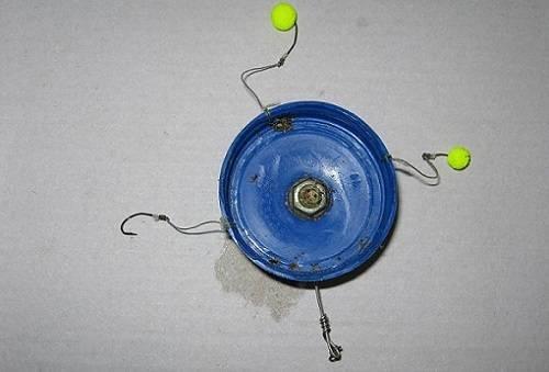 Монтаж соски для карасевой рыбалки