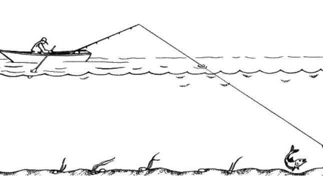 Ловля на дорожку с моторной лодки – рыбалке.нет