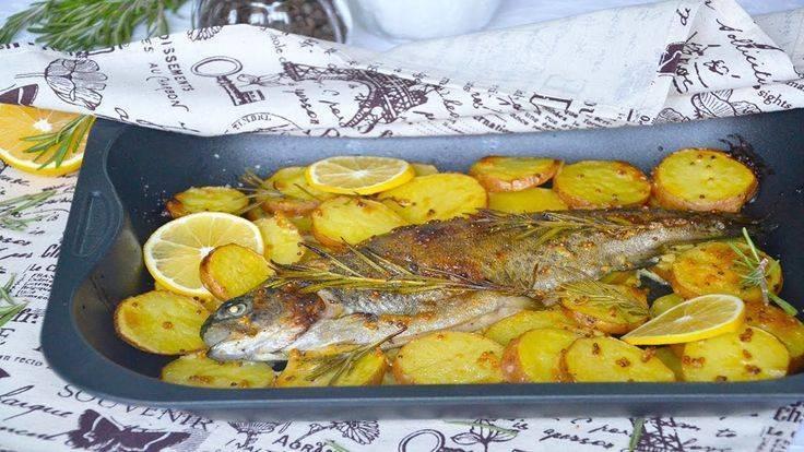 Рыба с картошкой: 5 пошаговых рецептов с фото